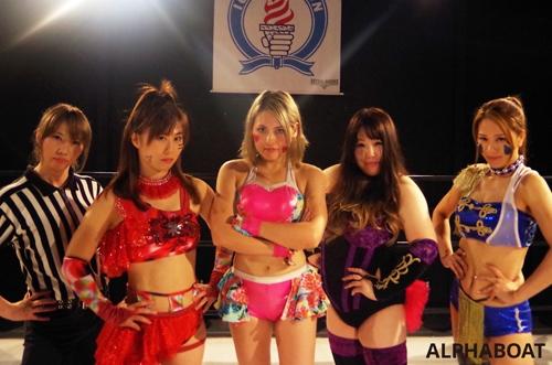 女子 プロレス